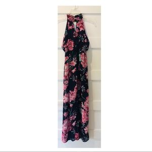 Sienna Sky Floral Print Maxi Dress